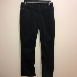 AG Adriano Goldschmied Sz 27 Jodi Crop High Rise